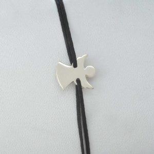 Bratara snur sintetic accesoriu argint 925 ingeras