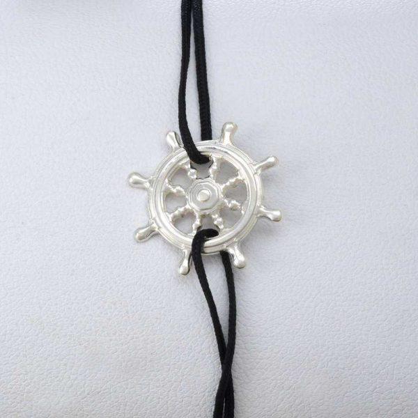 Bratara snur sintetic accesoriu argint 925 timona