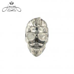 Inel barbatesc de argint N63