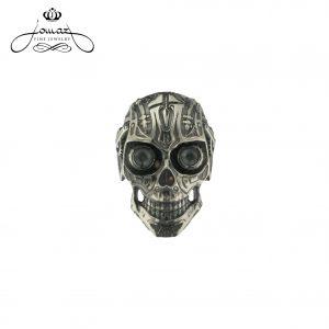 Inel barbatesc de argint N56
