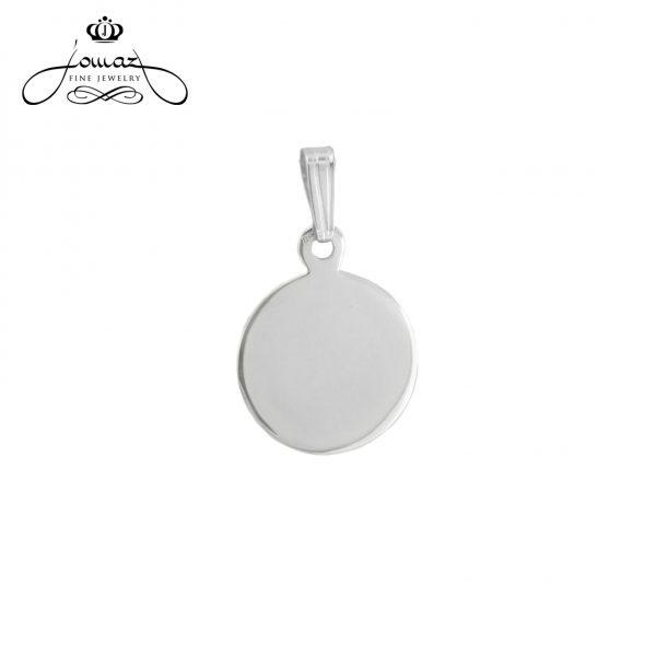 Pandant medalion din argint 925