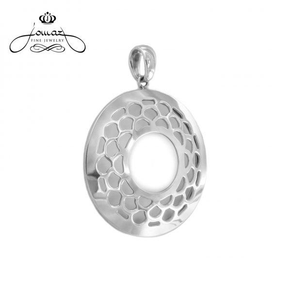Pandantiv rotund traforat din argint 925 / P181