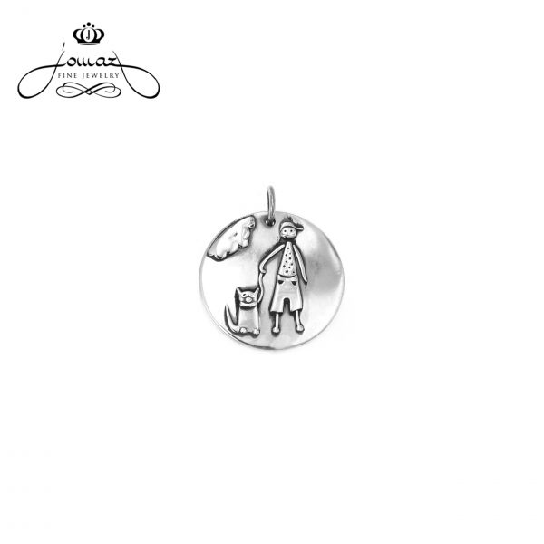 Pandantiv baietel din argint 925 / P267