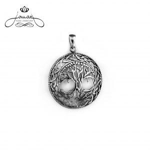 Pandantiv copacul vietii din argint 925 / P286