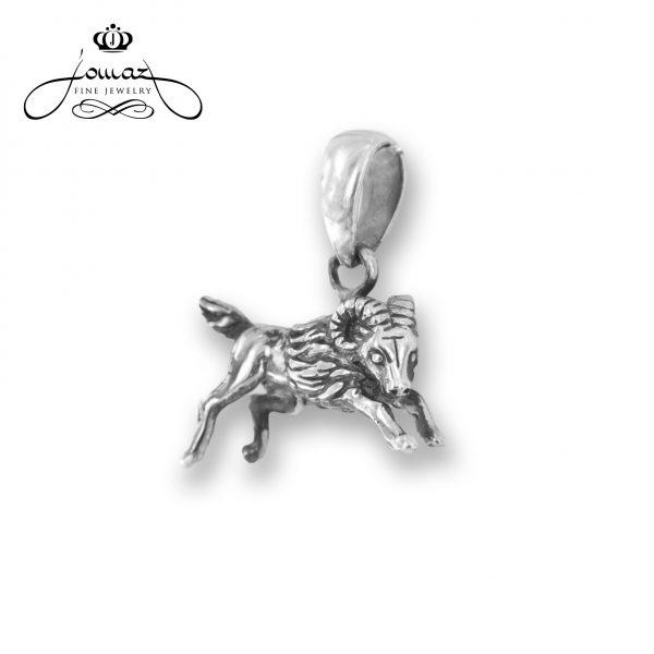 Pandantiv din argint 925 zodia berbec / P306