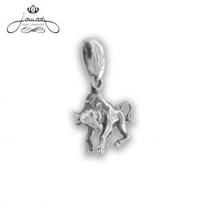 Pandantiv din argint 925 zodia taur / P307