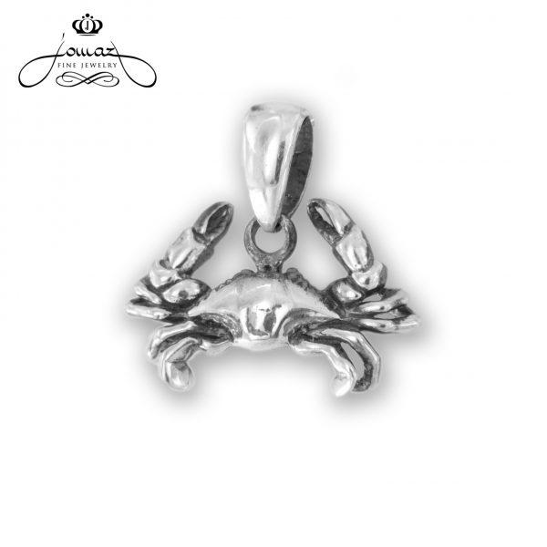 Pandantiv din argint 925 zodia rac / P309