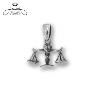 Pandantiv din argint 925 zodia balanta / P312