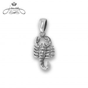 Pandantiv din argint 925 zodia scorpion / P313