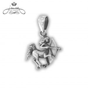 Pandantiv din argint 925 zodia sagetator / P314