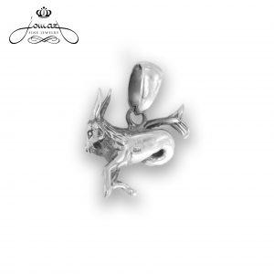 Pandantiv din argint 925 zodia capricorn / P315