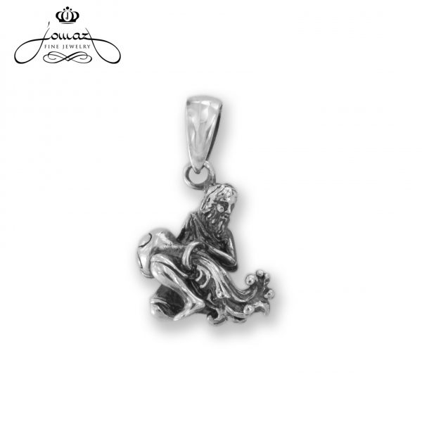 Pandantiv din argint 925 zodia varsator / P316