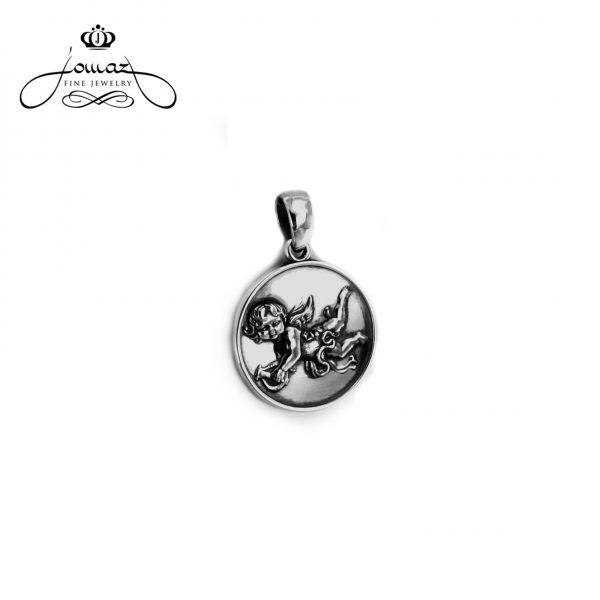 Pandantiv din argint 925 banut cu amoras/  P761