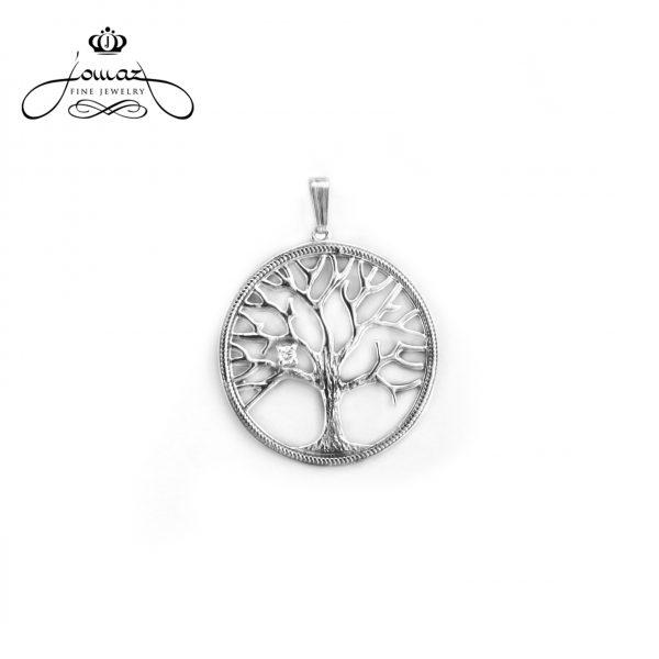 Pandantiv copacul vietii din argint 925 / P816