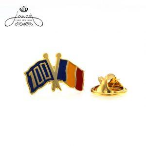 Insigna Romania 100 ani
